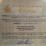 Dr.-Kavesteen-Awarded-Citation-from-New-York-Assembly Home