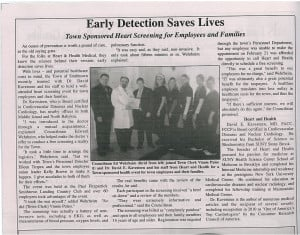 smithtown-article-300x235 Smithtown Messenger Newspaper Article - Early Detection Saves Lives