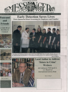 smithtown-article-cover-224x300 Smithtown Messenger Newspaper Article - Early Detection Saves Lives