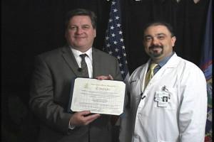 dave-award-3-300x200 David Kavesteen Lyme Disease PSA Summer 2013