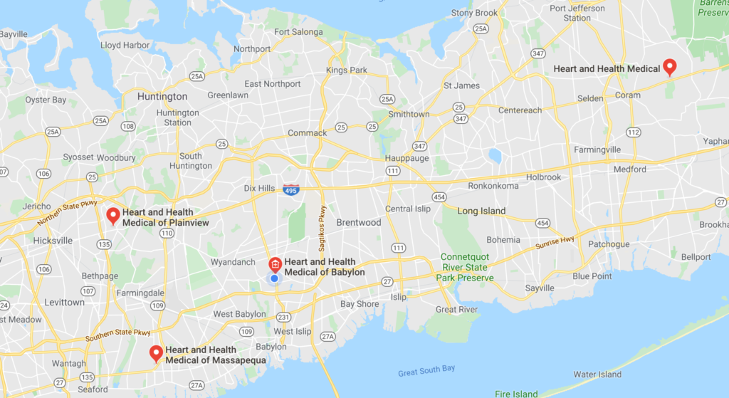 Heart and Health Medical Office Locations